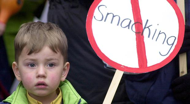 MSPs have backed the general principles of legsialtion which will outlaw smacking in Scotland. (Rebecca Naden/PA)