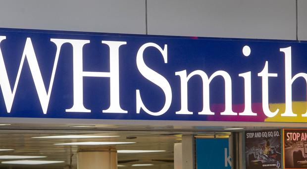WH Smith has again been voted the UK's worst high street shop (Philip Toscano/PA)