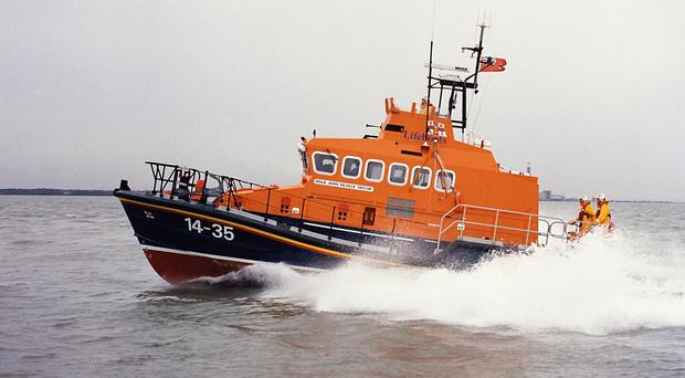 A Trent class RNLI lifeboat (RNLI/PA)
