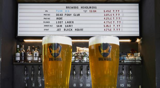 The Honest to Dog initiative will run across BrewDog bars in June (BrewDog/PA)