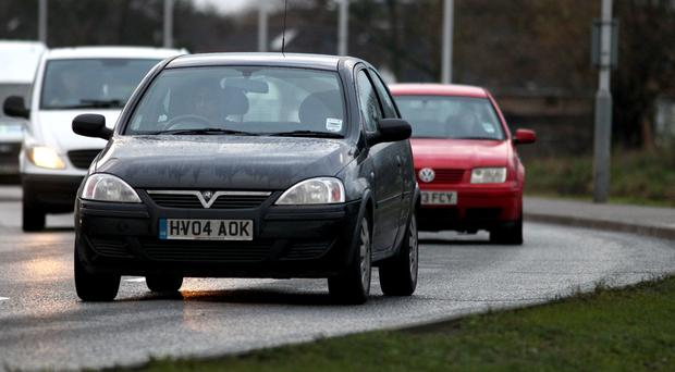 Uninsured drivers face an unlimited fine and disqualification from driving if a case goes to court (Steve Parsons/PA)