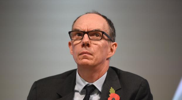 Bank of England deputy governor Sir Dave Ramsden said he has a gloomier outlook on UK growth than his rate-setting colleagues (Kirsty O'Connor/PA)