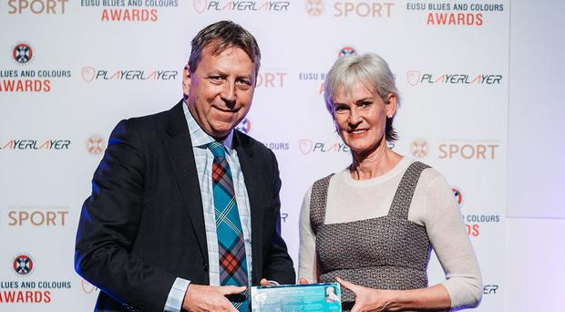 Judy Murray has been honoured by her former university (University of Edinburgh/PA)