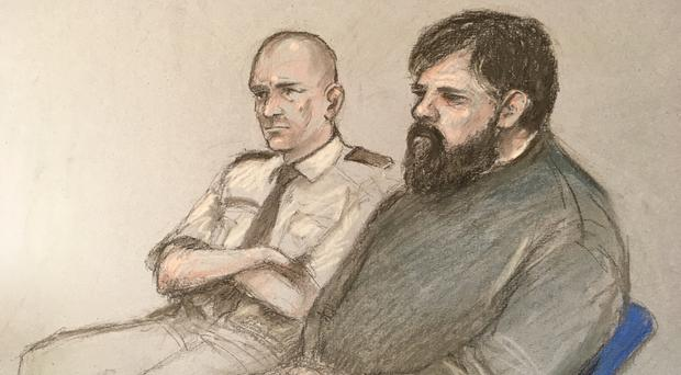 Carl Beech at Newcastle Crown Court (Elizabeth Cook/PA)