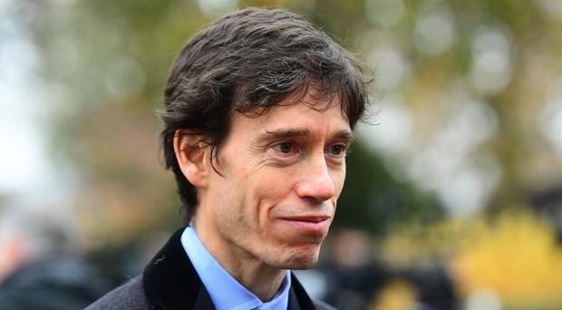 Rory Stewart speaks to the media on College Green in Westminster, London (Victoria Jones/PA)