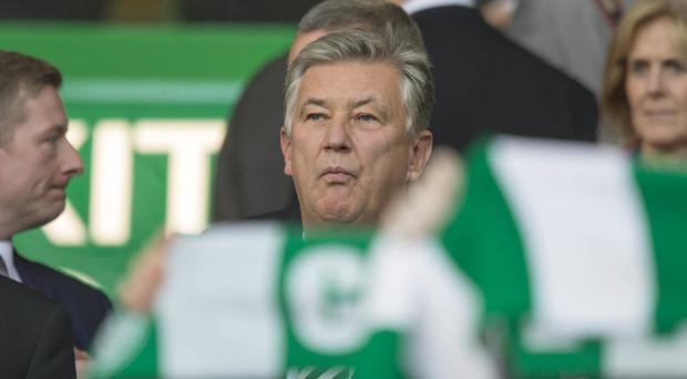 Celtic chief executive Peter Lawwell said criticism of the club in the wake of historic sex abuse case was 'unfair' and 'msguided'. (Jeff Holmes/PA)