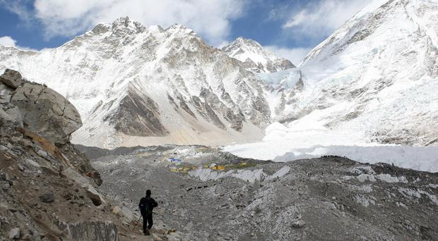 The climbers went missing in the Himalayas (David Cheskin/PA)