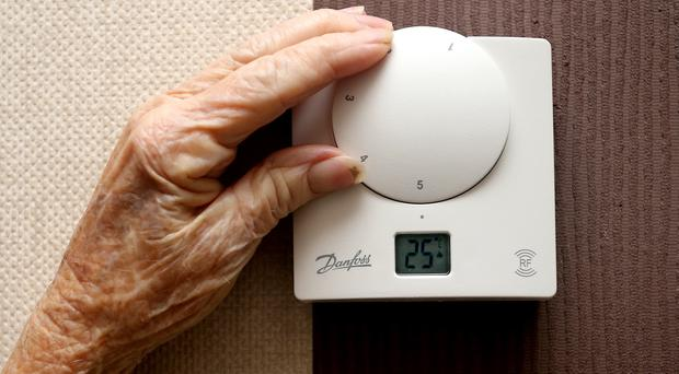 Housing associations have reported more tenants turning off their heating due to lack of money (Peter Byrne/PA)