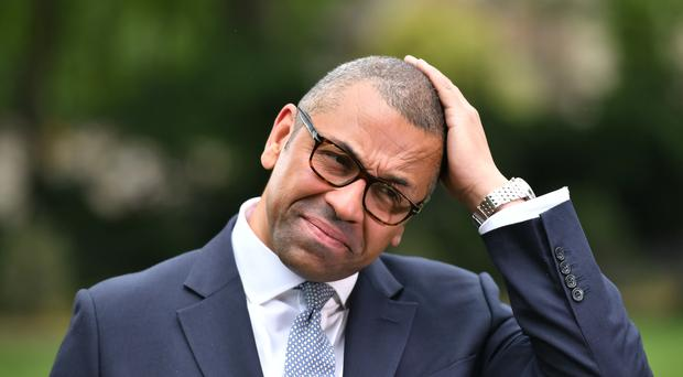 Braintree MP and Brexit Minister James Cleverly has pulled out of the Tory leadership race (Dominic Lipinski/PA)
