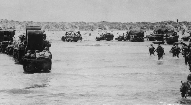 American troops land in France on D-Day (PA)