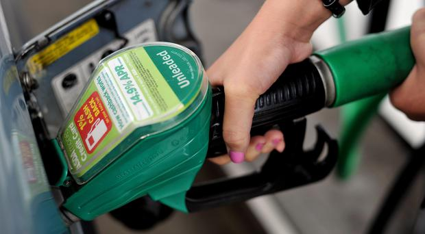 Average fuel prices rose for the fourth month in a row in May (Nick Ansell/PA)