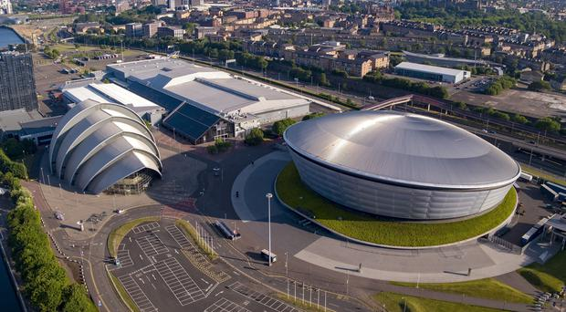 The Scottish Event Campus in Glasgow includes The SSE Hydro and the Armadillo (SEC/PA)