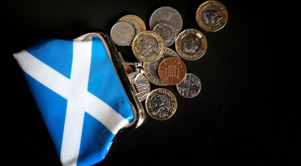 The Fraser of Allander Institute criticised the Scottish Government's Medium Term Financial Strategy. (Jane Barlow/PA)
