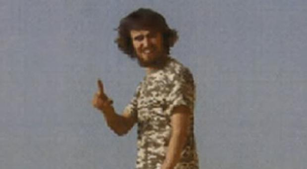 Jack Letts, also known as Jihadi Jack, in Raqqa (Counter Terrorism Policing South East/PA)