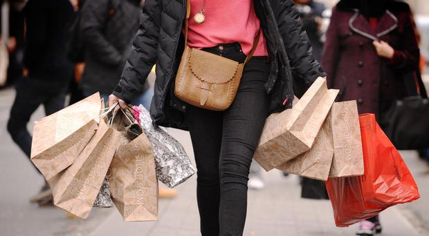 The number of high street retail jobs fell in every region of England, Scotland and Wales except for London between 2012 and 2017 (PA)