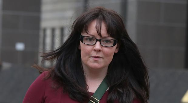 Former SNP MP Natalie McGarry has been jailed for stealing money from pro-independence groups (PA)