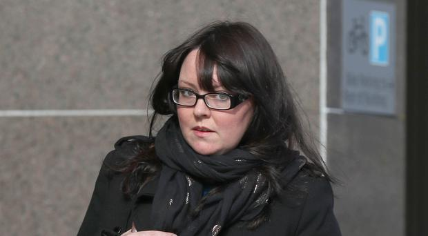 Former SNP MP Natalie McGarry has been jailed for 18 months (Andrew Milligan/PA)