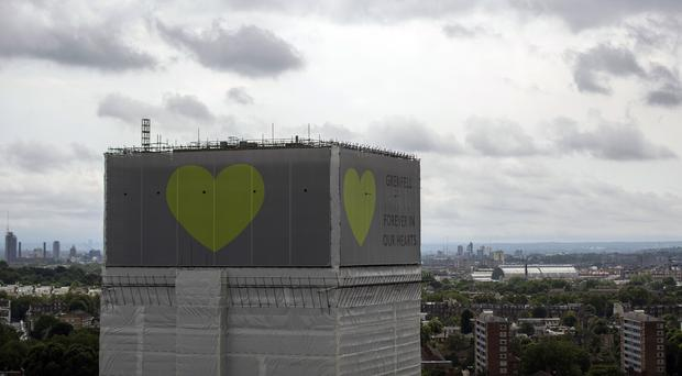 The Grenfell Tower blaze on June 14 2017 left 72 people dead (Victoria Jones/PA)
