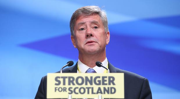 SNP depute leader Keith Brown said the letter was a 'major intervention' from the Spanish (Jane Barlow/PA)