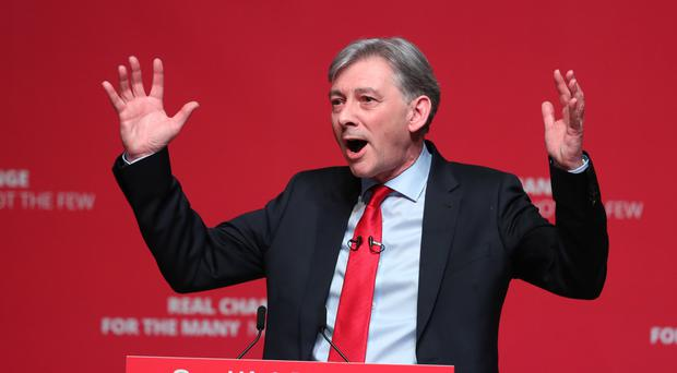 Scottish Labour leader Richard Leonard has called for the party to back a second EU referendum and with a remain option (Andrew Milligan/PA)