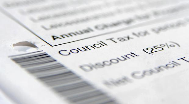 Undated file photo of a council tax bill.