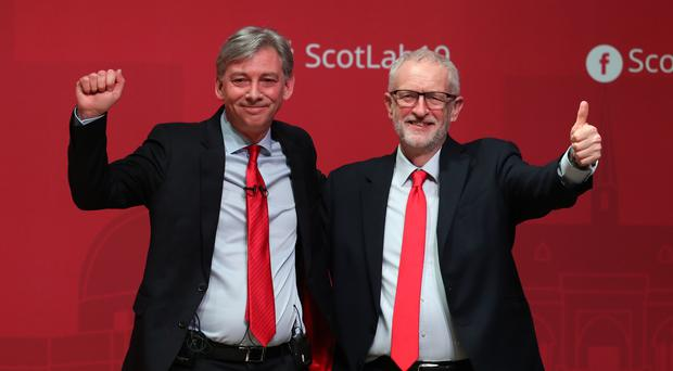 Scottish Labour leader Richard Leonard has called for the party to support a vote on any Brexit deal with the option of Remain (Andrew Milligan/PA)