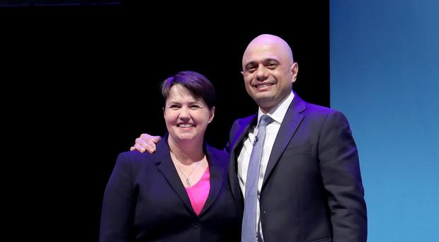 Scottish Conservative leader Ruth Davidson has backed Home Secretary Sajid Javid to be the next PM (PA)