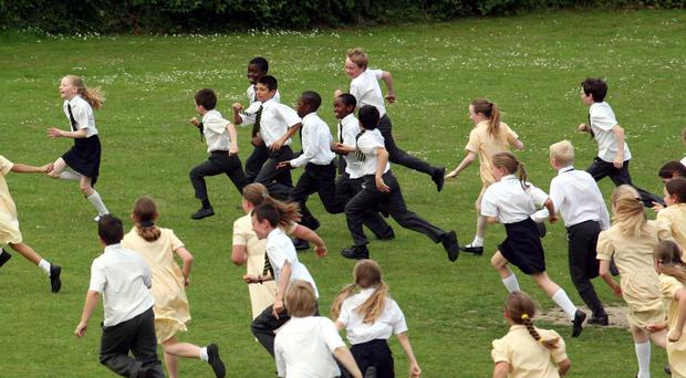Participants in the study were aged between eight and 18 (Tom Pilston/PA)