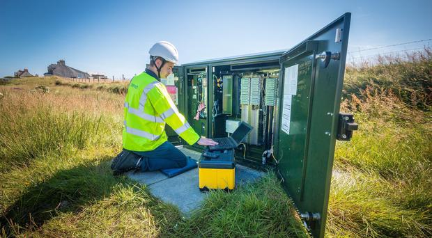 Increased use of technology is part of an action plan to address skills gaps in rural areas (Openreach/PA)