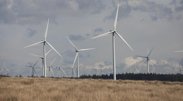 ScottishPower is to install a super-sized battery at its Whitelee windfarm (Chris James/ScottishPower/PA)