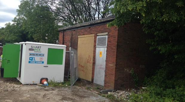 Vandals 'diced with death' at the electricity substation in Bolton (Electricity North West/PA)