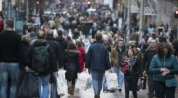 The unemployment rate in Scotland is below the rate of the UK (John Linton/PA)