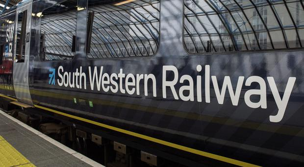 South Western Railway services were disrupted on Tuesday morning (Victoria Jones/PA)