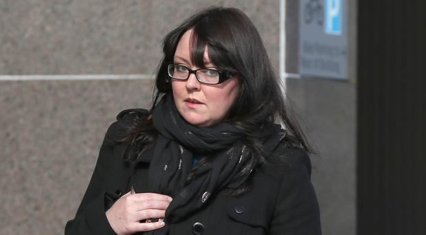 Natalie McGarry was freed on bail pending an appeal (Andrew Milligan/PA)