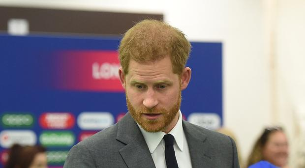 The Duke of Sussex (Stuart C Wilson/PA)