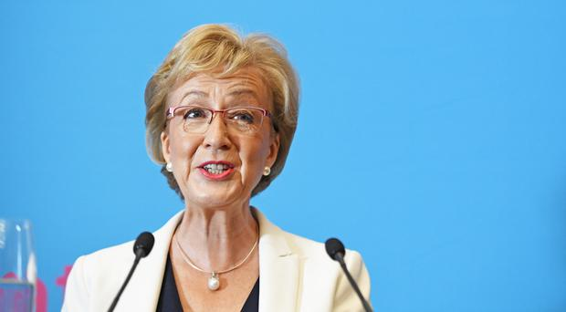 Andrea Leadsom has now ruled out holding a second Scottish independence vote (Stefan Rousseau/PA)