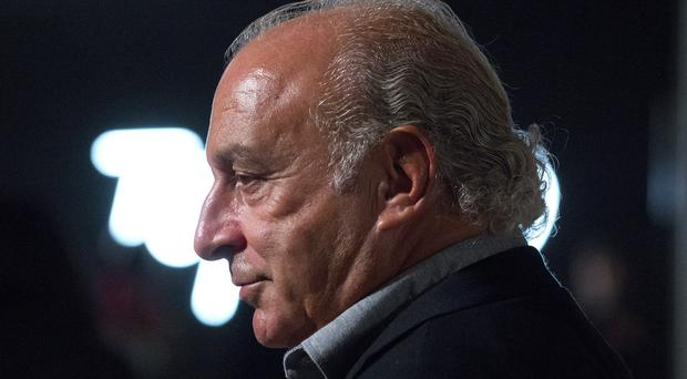 Sir Philip Green's retail empire includes Topshop, Wallis, Evans and Burton (PA)