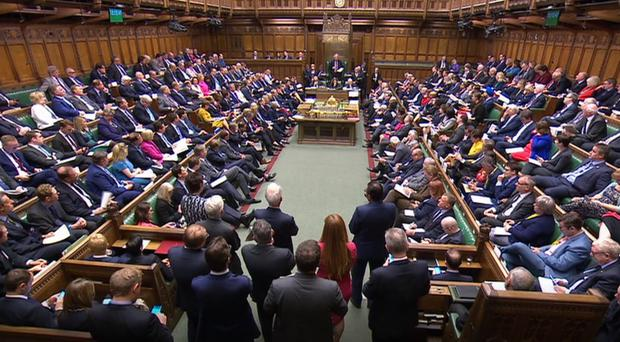 Opposition effort to block no-deal Brexit narrowly defeated