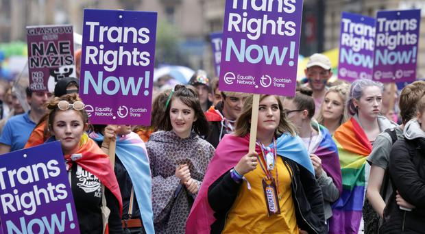 The census will now include questions on sexual orientation and transgender status (David Cheskin/PA)