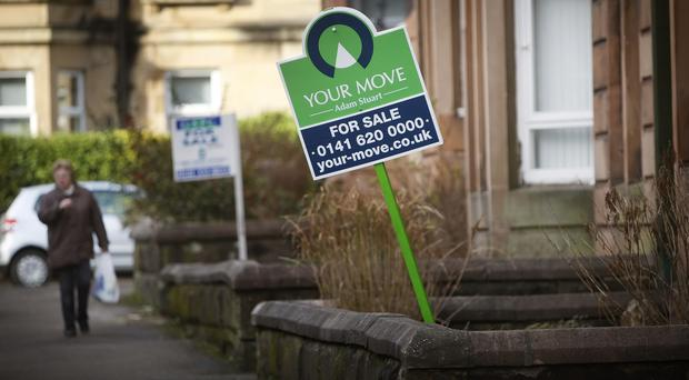 Demand for properties in Scotland dropped in May, according to new reserach (Danny Lawson/PA)