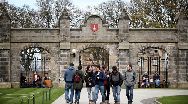 Scottish universities are showing 'full-hearted commitment to achieving fair access' according to Professor Peter Scott (Jane Barlow/PA)
