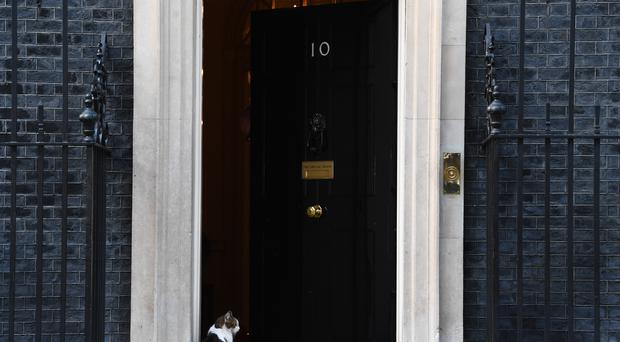 Seven Tories are bidding to enter 10 Downing Street (Victoria Jones/PA)
