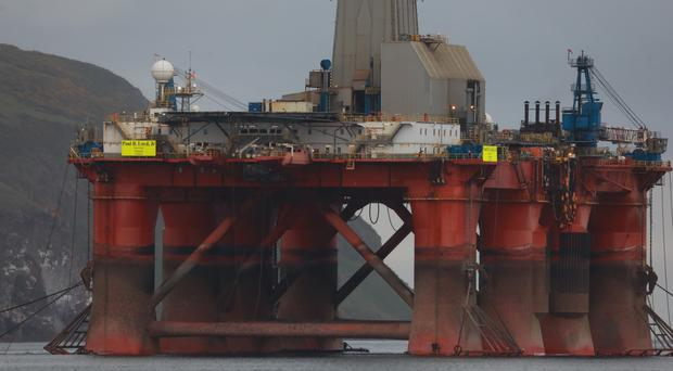 Greenpeace activists have boarded an oil rig in the Cromarty Firth (Greenpeace/PA)