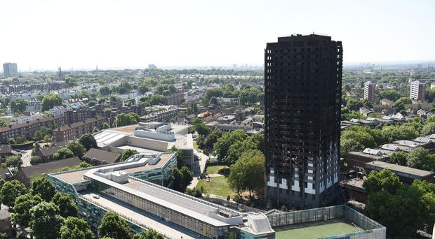 Survivors of the Grenfell Tower disaster will hold a day of remembrance (David Mirzoeff/PA)