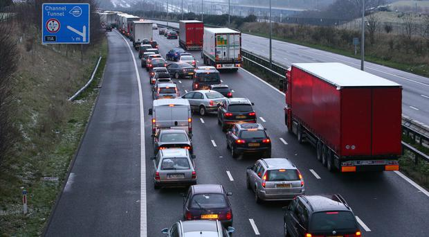 A specialist has called on healthcare professionals to advise patients to reduce the number of car journeys they undertake (Gareth Fuller/PA)