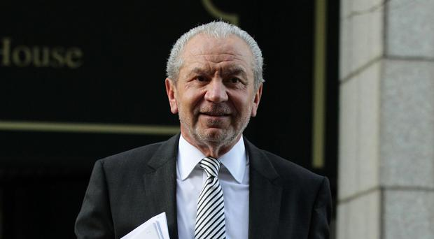 Lord Sugar believes Boris Johnson has a good chance of winning a general election (Yui Mok/PA)