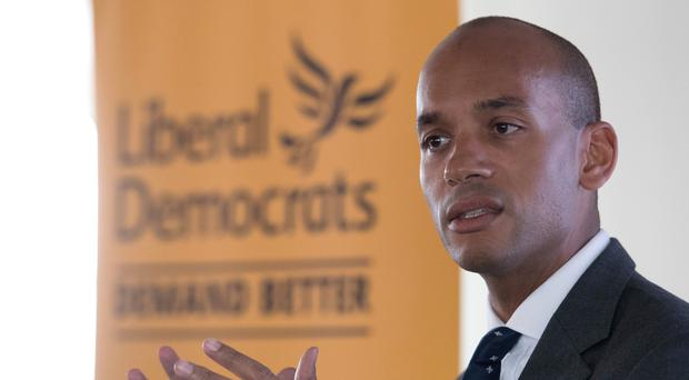 Former Change UK and Labour MP Chuka Umunna has joined the Lib Dems (Stefan Rousseau/PA)