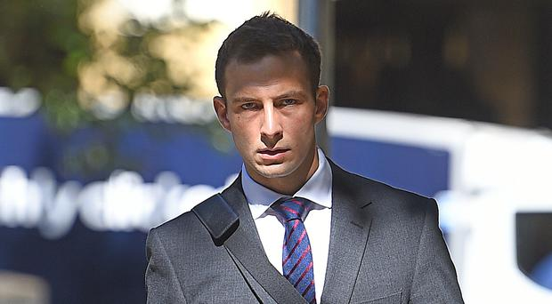 Joshua Savage resigned from the force ahead of the hearing (Kirsty O'Connor/PA)