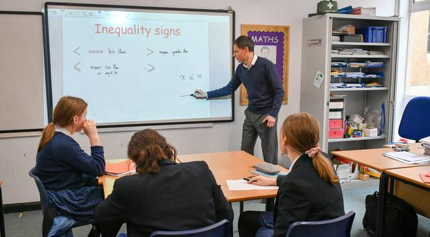 There has been an increase in the number of young teachers in Scotland (Ben Birchall/PA)