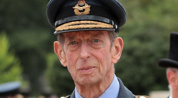 The Duke of Kent has reportedly been involved in a car accident (Dan Kitwood/PA)